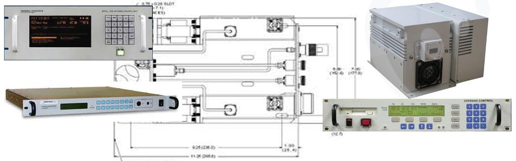 Convertidores, LNAs, Amplificadores SSPA/TWT